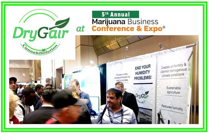 Drygair in marijuana business conference and expo