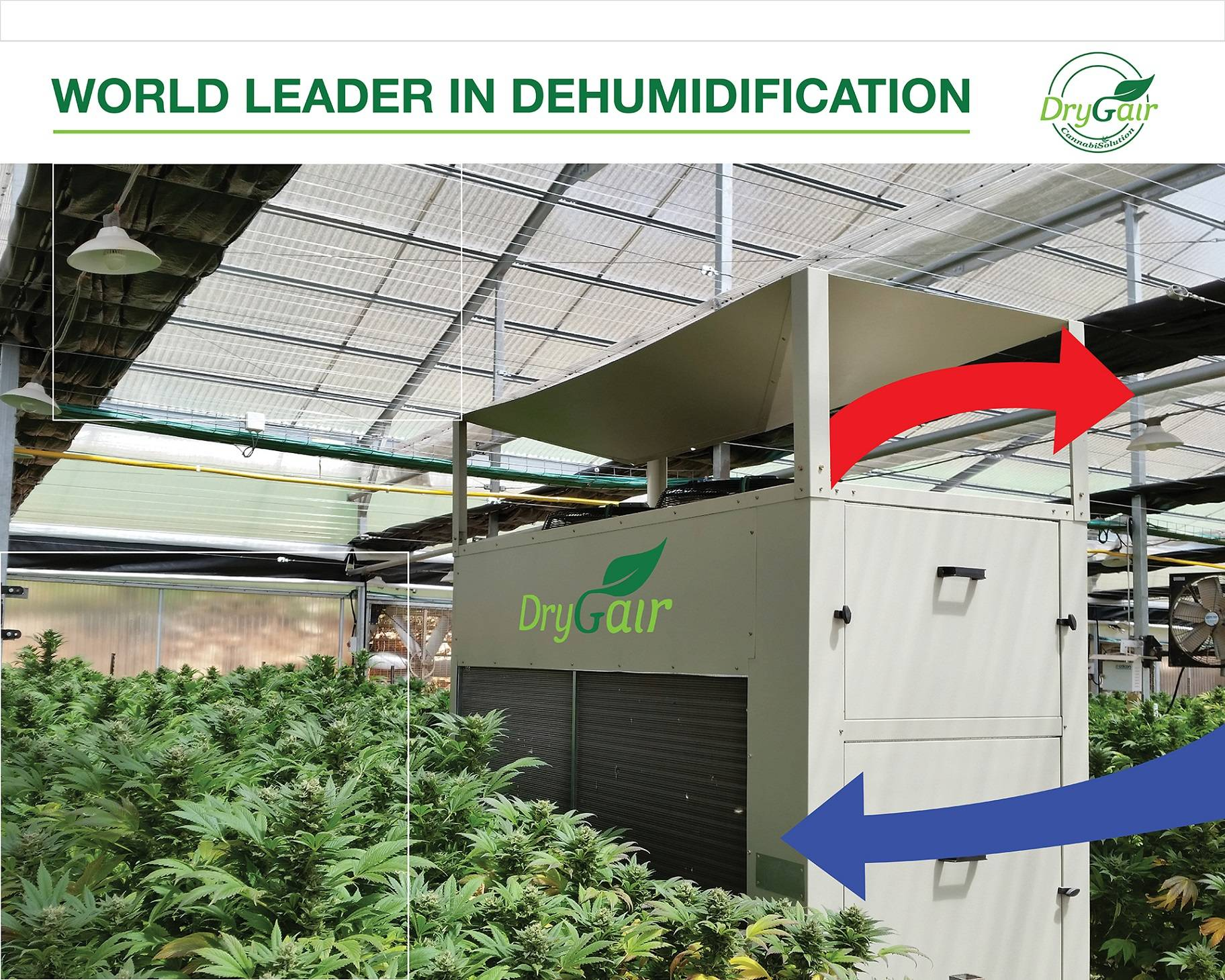 Drygair greenhouse dehumidifier quality air heating and cooling