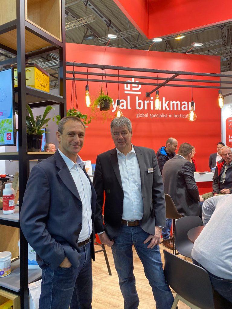 Royal Brinkman booth at the IPM